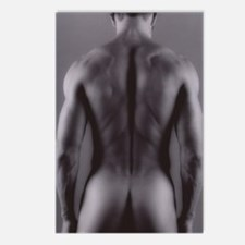 Nude man Postcards (Package of 8)