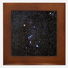 Orion constellation Framed Tile