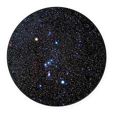 Orion constellation Round Car Magnet