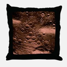 Planned landing site, Fra Mauro area Throw Pillow