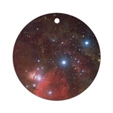 Orion's Belt Round Ornament