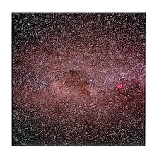 Optical photograph of the Milky Way Tile Coaster