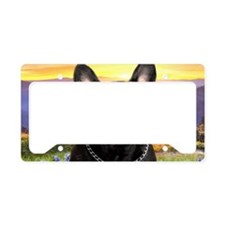 meadow(laptop)2 License Plate Holder