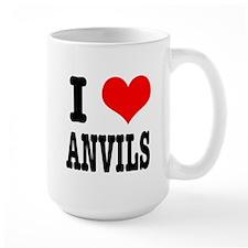 I Heart (Love) Anvils Mug