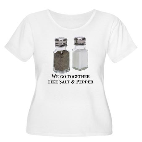 Salt & Pepper - Women's Plus Size Scoop Neck T-Sh