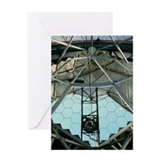 Primary mirror of the Hobby-Eberly T Greeting Card