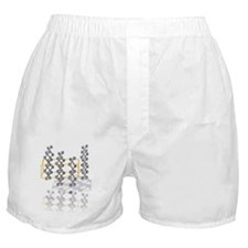 Arsenic crystal structure Boxer Shorts