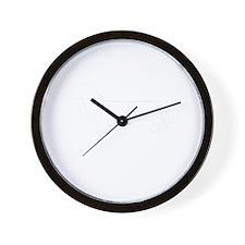Daschund dog breed designs Wall Clock