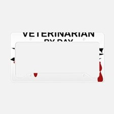 Veterinarian Zombie License Plate Holder