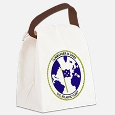Commander In Chief, US Atlantic F Canvas Lunch Bag