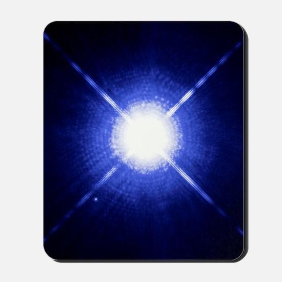 Sirius binary star system Mousepad