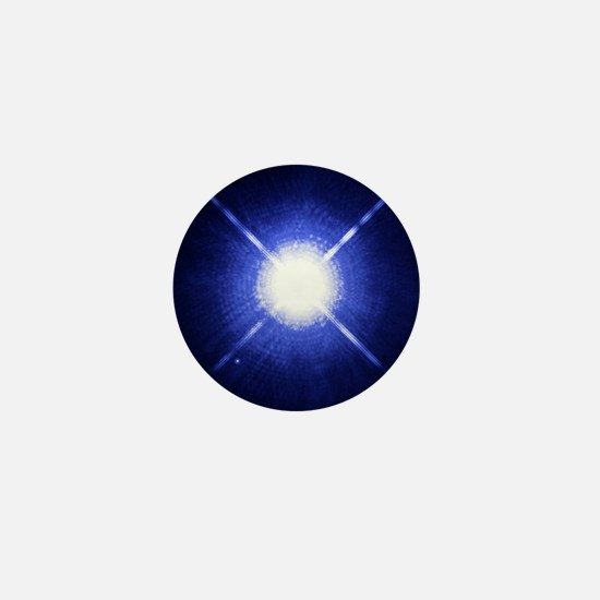 Sirius binary star system Mini Button