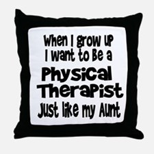 WIGU PT Aunt Throw Pillow
