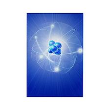 Atom, artwork Rectangle Magnet