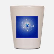Atom, artwork Shot Glass