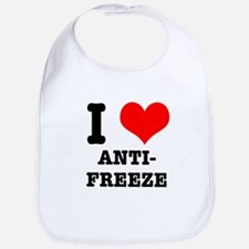 I Heart (Love) Antifreeze Bib