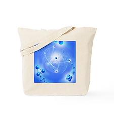 Atom, artwork Tote Bag