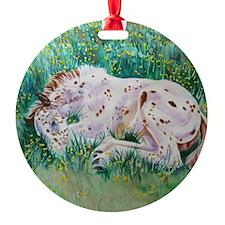 Lots of Dots! Appaloosa Foal Ornament