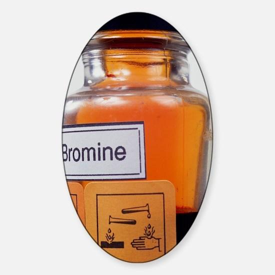 Bromine Sticker (Oval)