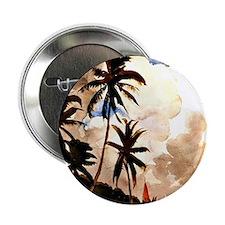 "Winslow Homer - Palm Trees, Bahamas 2.25"" Button"