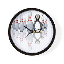 Bowling Wall Clock