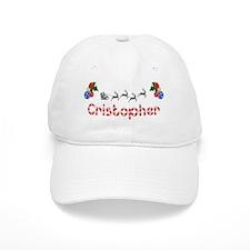 Cristopher, Christmas Baseball Cap