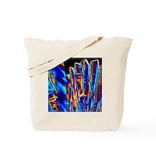PLM of crystals of tartaric acid Tote Bag