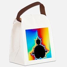 Mandelbrot fractal Canvas Lunch Bag