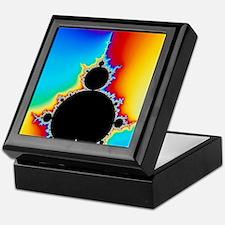 Mandelbrot fractal Keepsake Box