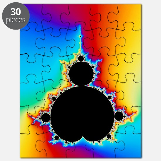 Mandelbrot fractal Puzzle