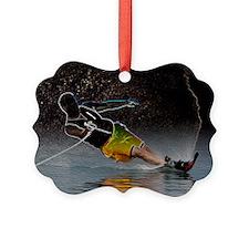 Waterskier, slalom Ornament