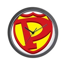 SuperPapa Sheild Only Wall Clock
