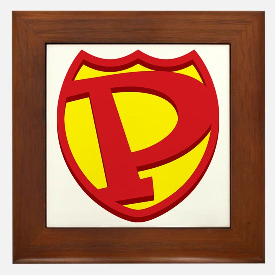 SuperPapa Sheild Only Framed Tile