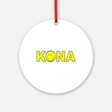 Kona, Hawaii Ornament (Round)
