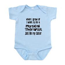 WIGU PT Sister Infant Bodysuit