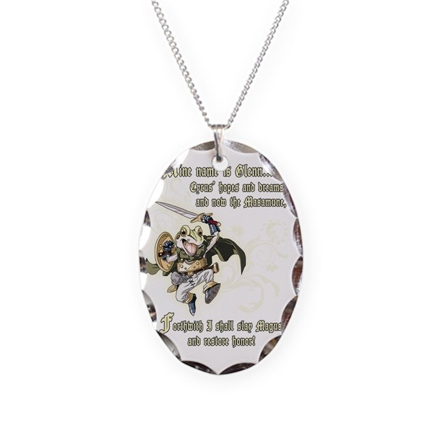 chrono trigger frog quote necklace by admin cp46023021