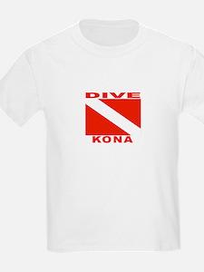 Dive Kona, Hawaii T-Shirt
