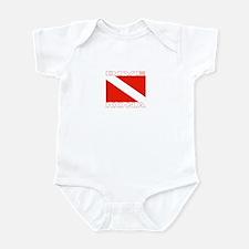 Dive Kona, Hawaii Infant Bodysuit