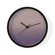 Quantum waves Wall Clock