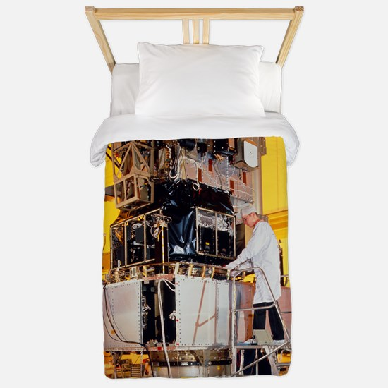 SOHO spacecraft during tests in France Twin Duvet