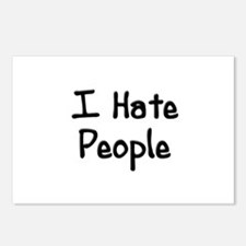 I Hate People Postcards (Package of 8)