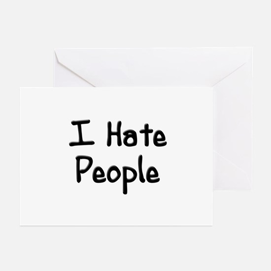 I Hate People Greeting Cards (Pk of 10)