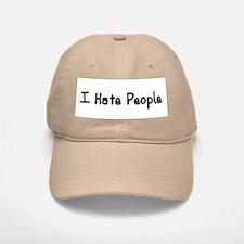 I Hate People Baseball Baseball Cap