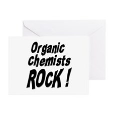 Organic Chemists Rock ! Greeting Cards (Package of