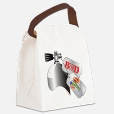 DogTags Canvas Lunch Bag
