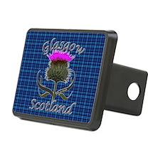 Glasgow Scotland blue tart Hitch Cover