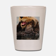 Alaskan Sea Otter Galaxy Shot Glass