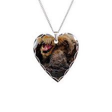 Alaskan Sea Otter Galaxy Necklace