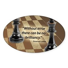 Chess Quote- Brilliance Decal