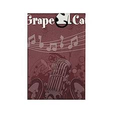 Grape Cat Kindle Kickstand Case Rectangle Magnet